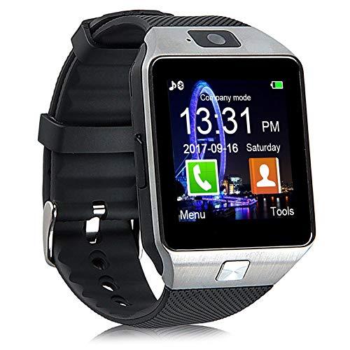 Bluetooth Smartwatch, Fitness Armbanduhr mit SIM Card Slot GSM Sport Watch Activity Tracker mit...