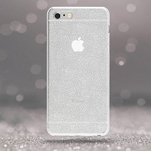 Coque iPhone 6 / 6S, iVoler [ ULTRA NOIR SILICONE EN GEL TPU SOUPLE ] Housse Etui Coque de Protection avec Absorption de Choc et Anti-Scratch pour iPhone 6 / 6S 4.7'' Glitter Crystal Quartz