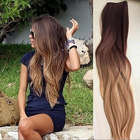 Cheveux Naturel - Devalook Extensions capillaires à pinces pour tête