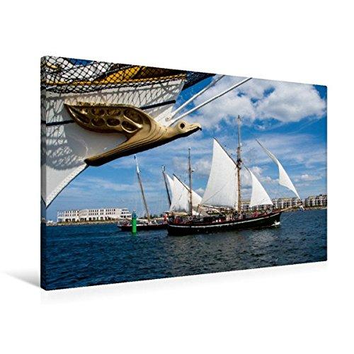 Preisvergleich Produktbild Premium Textil-Leinwand 90 cm x 60 cm quer, Marco Polo | Wandbild, Bild auf Keilrahmen, Fertigbild auf echter Leinwand, Leinwanddruck (CALVENDO Mobilitaet)