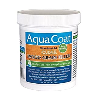 Aqua Coat Clear Wood Grain Filler Pt. by Aqua Coat