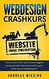 Webdesign Crashkurs: Wie du Schritt für Schritt deine eigene professionelle Website erstellst, ganz ohne teuren Webdesigner.