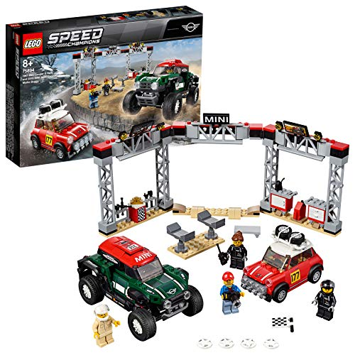 LEGO Speed Champions 75894 Rallyeauto 1967 Mini Cooper S und Buggy 2018 Mini John Cooper Works