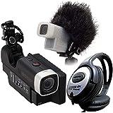 Zoom Q4Caméra vidéo enregistreur vidéo + rjq4Rain Jacket + Casque keepdrum portable