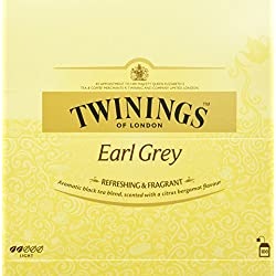Twinings Earl Grey 200g, 100 Beutel, 1er Pack (1 x 200 g)
