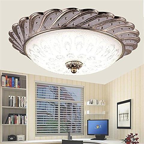 Pavone a tre colori di luce antichi arti creative camera da letto den balcone corridoio corridoio europeo soffitto LED