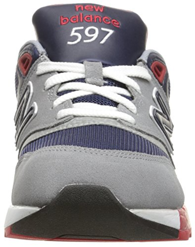 New Balance 597, Baskets Basses Homme Gris