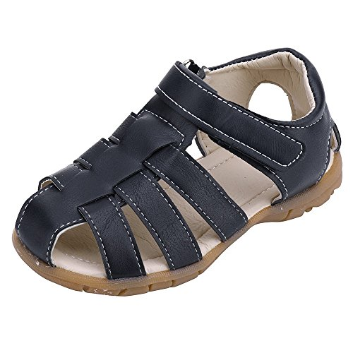 Sllowwa Baby Kleinkind Junge Mädchen Sandalen Weicher Lauflernschuhe Hausschuhe Geschlossene Zehe Sommer Strand Sandalen Schuhe Sneakers - Schaffell Baby Booties