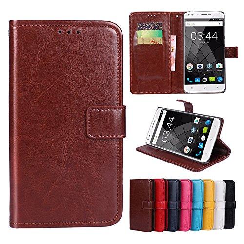 F&a® Flip Brieftasche Hülle für Oukitel U22 (Muster 8)