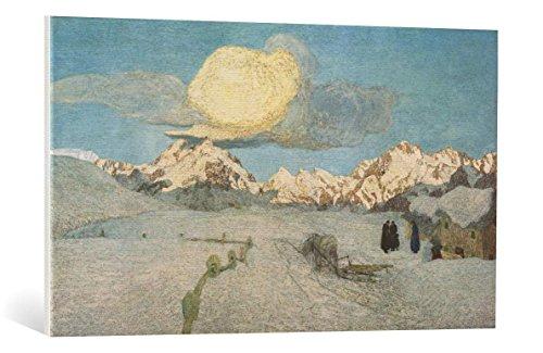 Quadro su tela: Giovanni Segantini