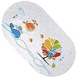 Cartoon Antirutsch Badematte für Kinder, PVC-Material Badezimmer Matte, Rutschfest Badematte Anti Rutsch Teppich, Badespaß Fly Fish