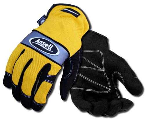Ansell Projex 97-510/10 Multiusos guante, Protección mecánica, Tamaño 10 (bol...