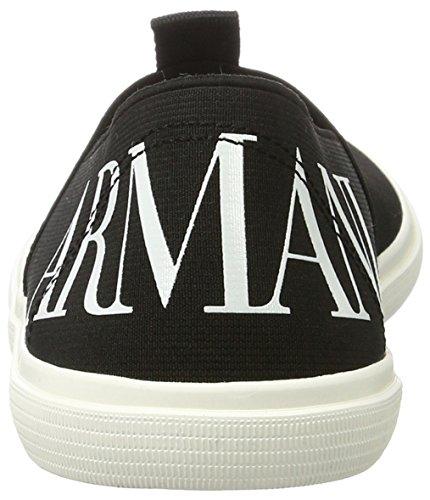 Armani Jeans 9350837p422, Mocassins homme Noir