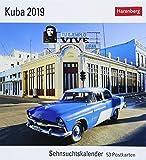 Kuba - Kalender 2019: Sehnsuchtskalender, 53 Postkarten -