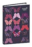 Quo Vadis 128108119MQ Anno Scolastico 2018-2019 EUROTEXTAGENDA ML Butterfly - 12x17cm - Giornaliera - Ago/Lugl
