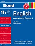 New Bond Assessment Papers English 10-11+ Years Book 1