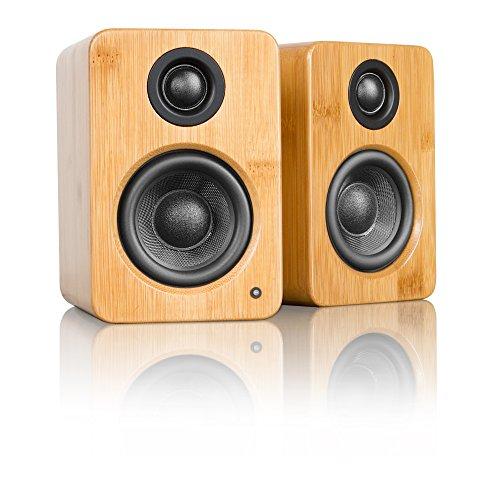 Kanto YU2 Aktiv Lautsprecher mit Bluetooth - Bambus