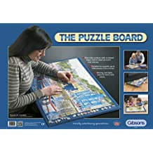 Gibsons G9000 - Tapete para puzzles, color azul