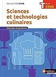 Sciences et technologies culinaires Tle