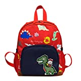 Elecenty Zaino Sacchetti di scuola del bambino dello zaino del fumetto del modello del dinosauro del modello delle borse dei bambini