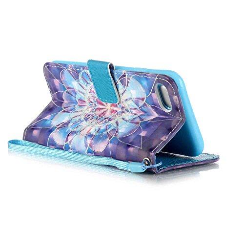 Owbb hibou Housse en PU cuir de protection pour iPhone 7 étui coque de téléphone Color 05