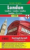 London, Stadtplan 1:10.000, City Pocket + The Big Five, freytag & berndt Stadtpläne: Stadskaart 1:10 000