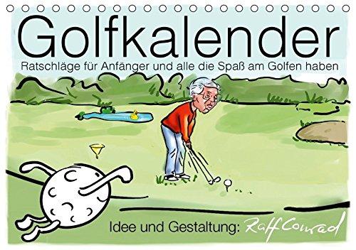 Golfkalender für Anfänger und alle die Spaß am Golfen haben (Tischkalender 2019 DIN A5 quer): Karikaturen zum Thema Golf (Monatskalender, 14 Seiten ) (CALVENDO Sport)