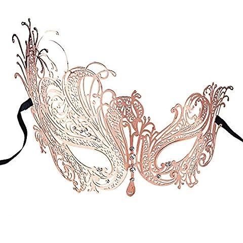 Bal Costumé Décorations - Coofit Masque femme au bal Costume parti