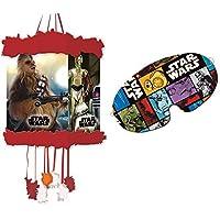 Star Wars Cartoon Piñata, 20x 30cm (Verbetena 014000860)