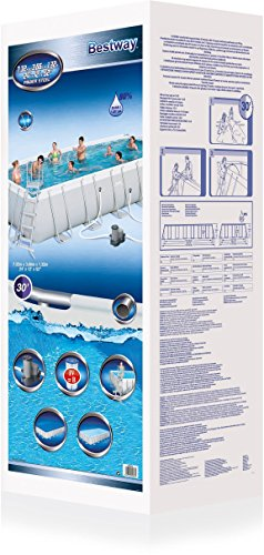 Bestway Frame Pool Power Steel Set 732x366x132 cm -