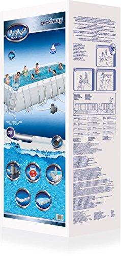 Bestway Frame Pool Power Steel Set 732x366x132 cm -