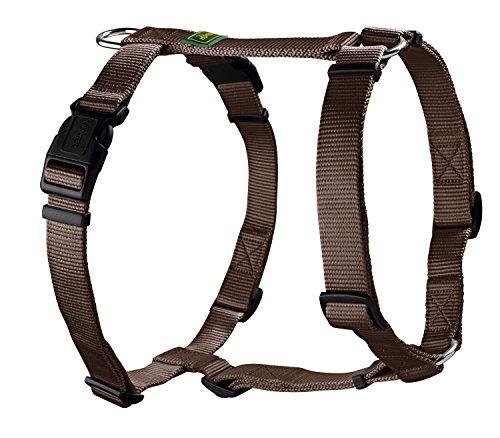 Hunter Hundegeschirr Vario Rapid, M, braun, Nylon…   04016739427991