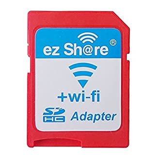 Ez Share High Speed Wireless WIFI WlAN SD Card Class10 SDHC Adapter DSLR