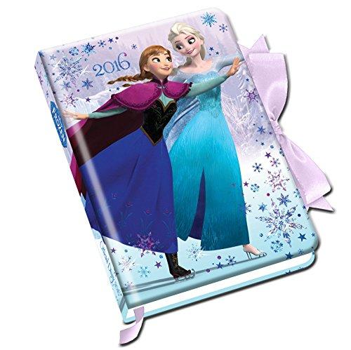 Official Frozen Elsa Anna & Olaf A6 2016 Diary (Ribbon Tie side) por Danilo