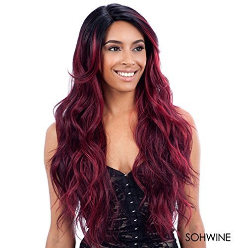 FreeTress Equal Deep Invisible Part Lace Front Wig - SUZIE (SOHWINE) by Freetress