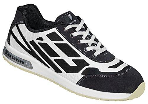 Maxguard Dave D312, Chaussures de Sécurité Mixte Adulte, 36 EU Blanc