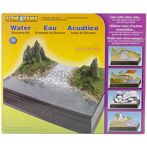 Woodland Scenics Karton Diorama Kit Wasser -