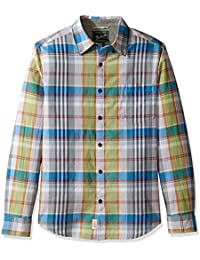 Woolrich Men's Oak View Long Sleeve Eco Rich Modern Fit Shirt