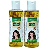 NEW MOON Jadi Buti Hair Fall Control Healthy Strong Shiny Hail Oil (200 ml Pack of 2 pieces)