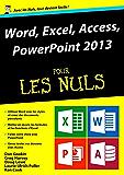 Word, Excel, PowerPoint et access 2013 Mégapoche Pour les Nuls