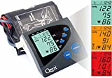 Ozeri CardioTech Premium Series BP4M Digital Arm Blood Pressure Monitor with Hypertension Color Alert Technology by Ozeri