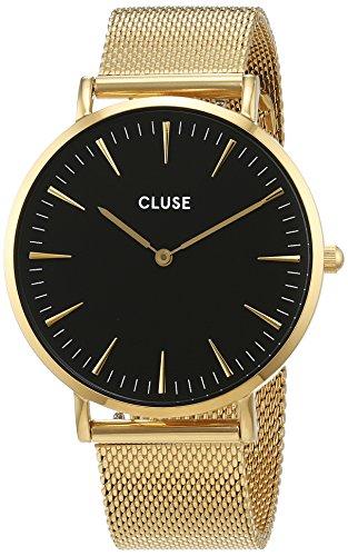 Cluse-Unisex-Armbanduhr-Analog-Quarz-Edelstahl-CL18110