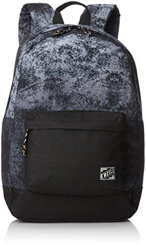 O'Neill - Bm Coastline Graphic Backpack, Mochilas Hombre, Schwarz (Black Aop W/ White), 13x31x46 cm (B x H T)