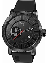 Puma Time Herren-Armbanduhr Popular 3HD Analog Quarz Plastik PU103851002