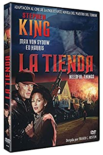 La Tienda de Stephen King DVD 1993 Needful Things