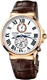 Ulysse Nardin Maxi Marine Chronometer Automatic 18kt Rose Gold Mens Watch 266-67/40