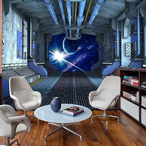 XZCWWH Kinderzimmer Wandtuch Wandbild Persönliche Raumschiff Kapsel Fototapete Kinderzimmer 3D Selbstklebende Vinyl/Seide Wandmalerei,90cm(W)×50cm(H) - Blume, 90 Kapseln