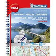 ALLEMAGNE / AUTRICHE / BENELUX / DUITSLAND / OOSTENRIJK 22462 ATLAS MICHELIN 2014