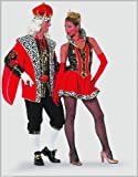 Stekarneval Disfraz de reina sexy para mujer, talla UK 8-10 (477236)