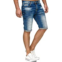 Redbridge Homme Jean Short Denim Jeans Shorts Coton Bermuda Court Pantalon 16db0514bee